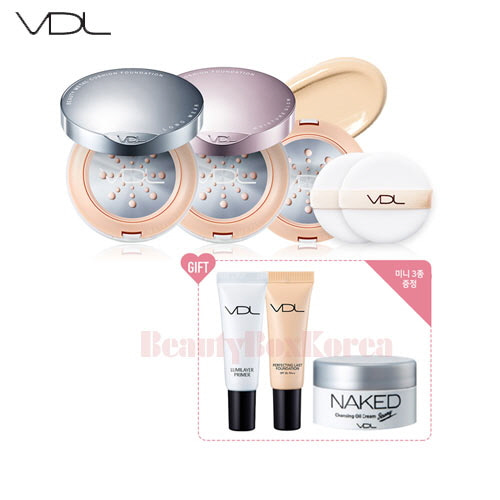 VDL Beauty Metal Cushion Foundation Set [Monthly Limited -July 2018]